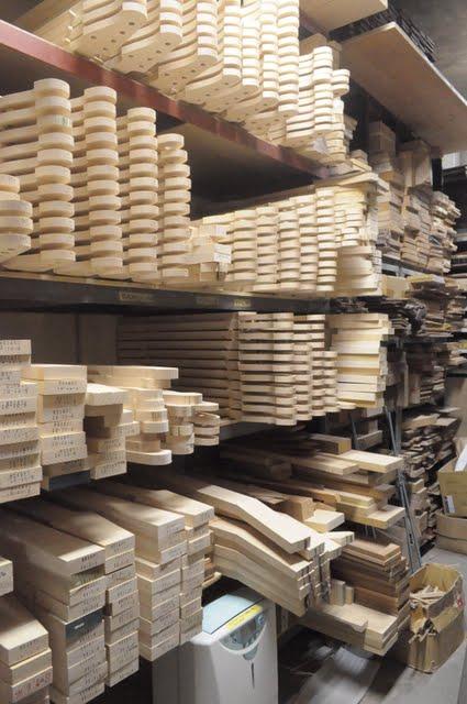 木材のシーズニングルーム